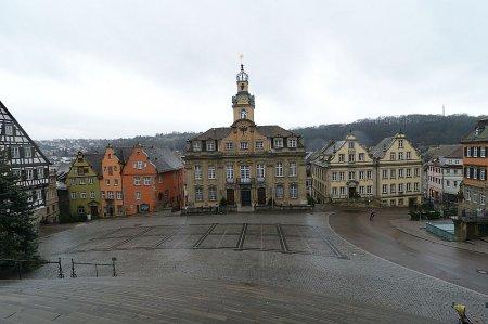 Швебиш-Халль: мелодика города