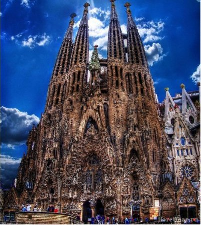 Собор Саграда Фамилия в Барселоне: когда заказчик не торопит