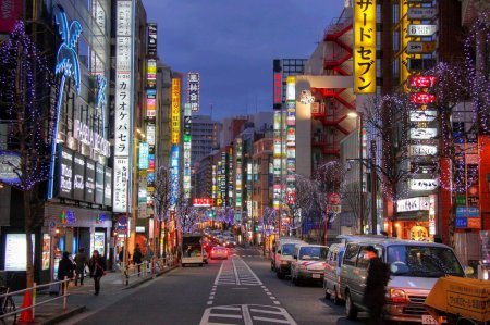 Токио: будущее и вечность